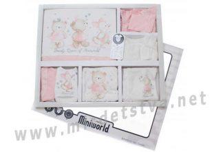 Комплект для девочки Miniworld 916395 в подарочной упаковке