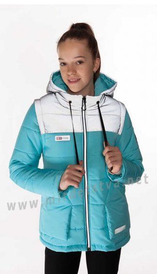 Куртка трансформер для девочки Nestta Nikol деми