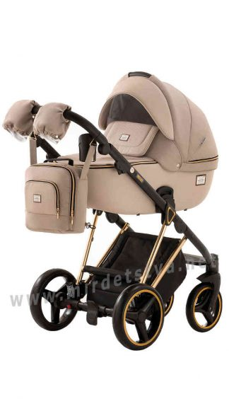 Легкая прогулочная коляска Adamex Mimi Polar Y847