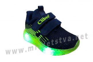 Мигающие кроссовки для мальчика Clibee F-863