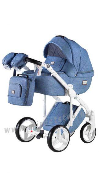Прогулочная коляска для детей Adamex Luciano jeans Q4