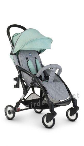 Прогулочная коляска легкая EL CAMINO ME 1058 Wish mint gray