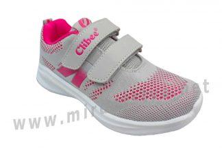 Текстильные кроссовки на девочку Clibee F-870