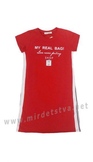 Трикотажное платье Dominik K-20-1018 для девочки