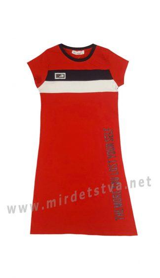Удлиненное платье для девочки Dominik K-20-1045