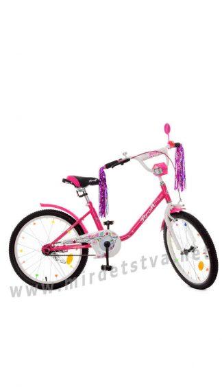 Велосипед 20 дюймов Profi Y2082 малинового цвета