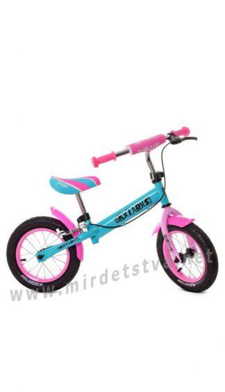 Беговел с надувными колесами Profi Kids M5454AB