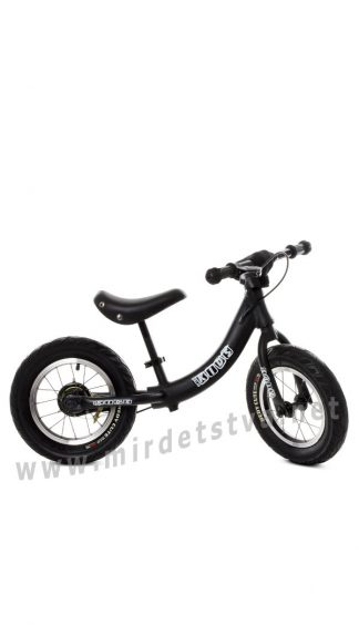 Черный беговел детский 12 дюймов Profi Kids M5450A-5