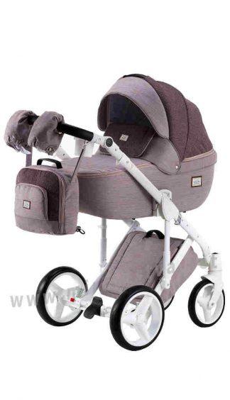 Детская прогулочная коляска Adamex Luciano jeans Y44