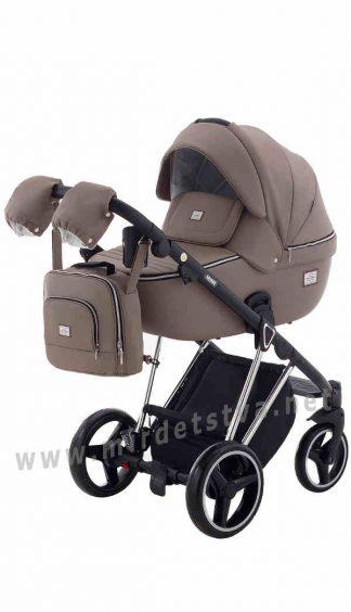 Коляска детская для прогулок Adamex Mimi Polar Chrome CR308