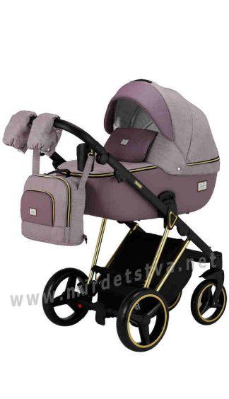 Легкая прогулочная коляска Adamex Mimi Polar Gold Y811