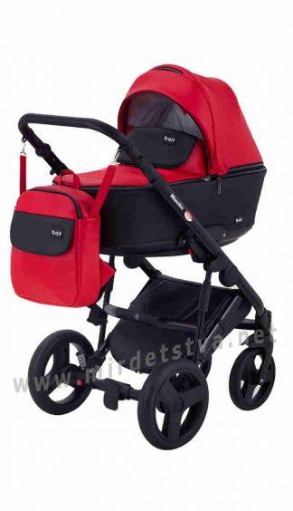 Прогулочная детская коляска Bair Mirello M-10/30 кожа