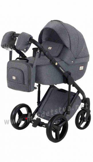 Прогулочная коляска Adamex 2в1 Luciano jeans Q2-CZ