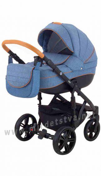 Прогулочная коляска детская 2в1 Adamex Prince X-2-CZ