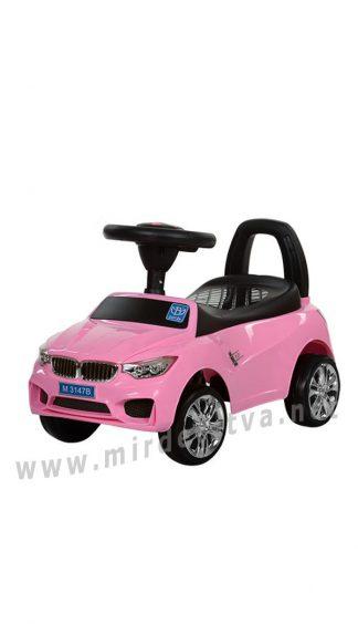 Розовая машинка для девочки Bambi M 3147B-8