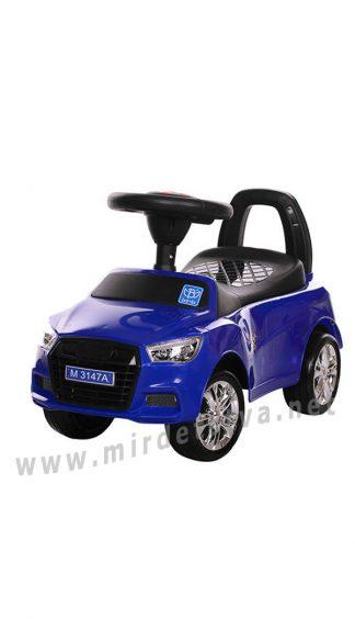 Синяя машина толокар Bambi M 3147A-4