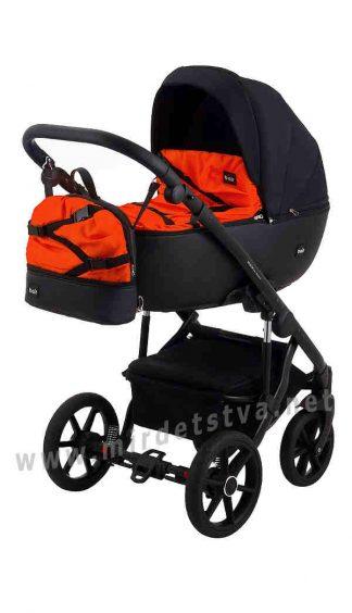 Стильная прогулочная коляска детская 2в1 Bair Future FF-02