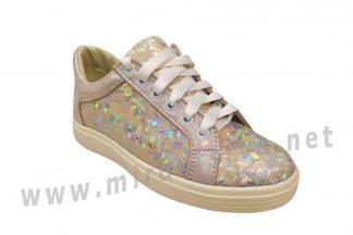 Детские кожаные кроссовки Jordan 7071 цветы пудра