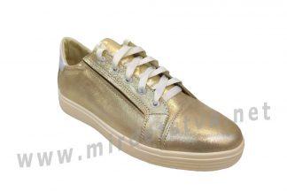 Кроссовки для девочки подростка Jordan 7072 золото