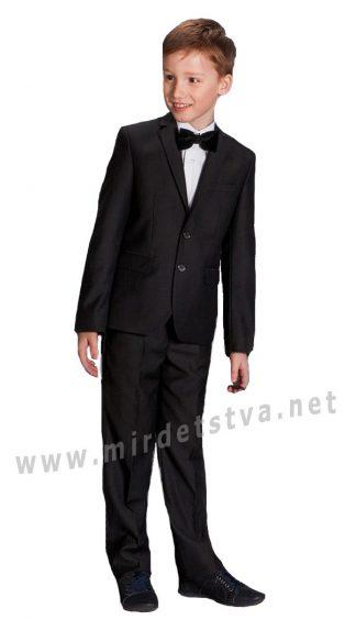 Черный костюм двойка для мальчика Новая Форма Mark 09.2