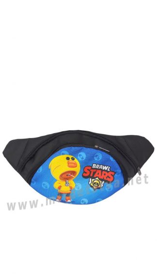 Бананка сумка детская Brawl Stars Леон Утка Blue