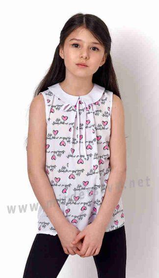 Блузка без рукавов Mevis 3165-01 для девочки