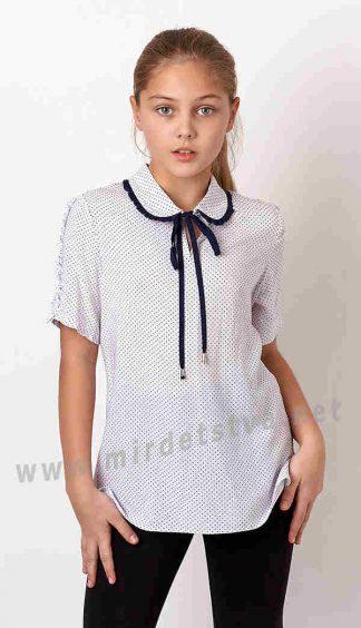 Блузка хлопковая с коротким рукавом Mevis 3231-01