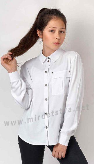 Блузка подростковая с длинным рукавом Mevis 3204-02