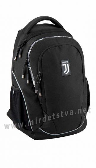 Черный ранец для мальчика Kite Education FC Juventus JV20-816L