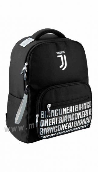 Черный ранец для школьника Kite Education FC Juventus JV20-770M