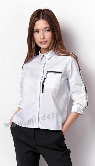 Котоновая блузка для девочки подростка Mevis 3296-01