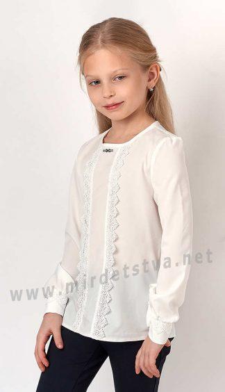 Нарядная блузка для девочки Mevis 3166-02