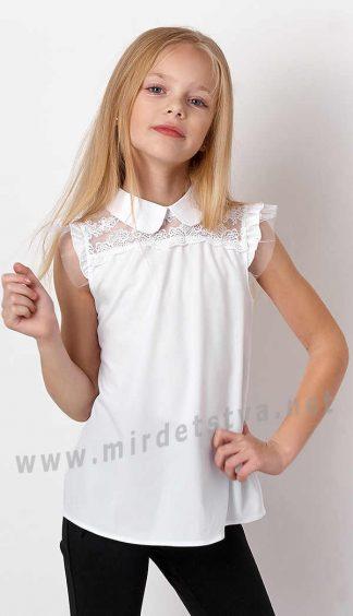 Нарядная блузка в школу Mevis 3274-01 для девочки
