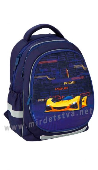Рюкзак Kite Education Fast Cars K20-700M(2p)-4 сменные панели