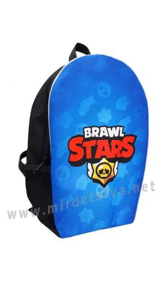 Рюкзак для мальчика Brawl Stars Skull Blue