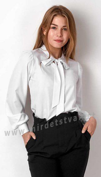 Стильная блузка с длинным рукавом Mevis 3182-01