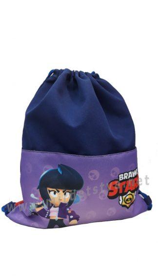 Сумка для сменной обуви Brawl Stars Биби Purple