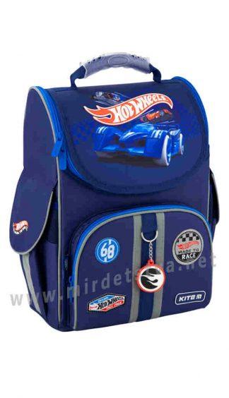 Каркасный рюкзак для мальчика Kite Education Hot Wheels HW20-501S-2