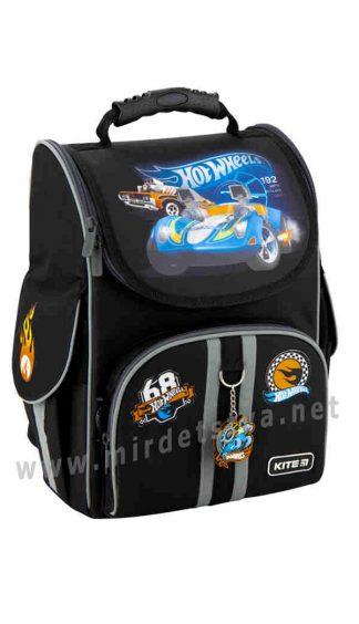 Легкий рюкзак для первоклассника Kite Education Hot Wheels HW20-501S-1