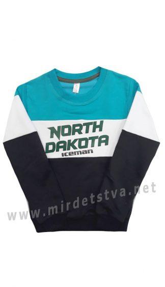 Свитшот детский трикотажный Iceman 2001 North Dakota