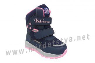 Ботинки зимние для девочки B&G термо ZTE21-9/0120