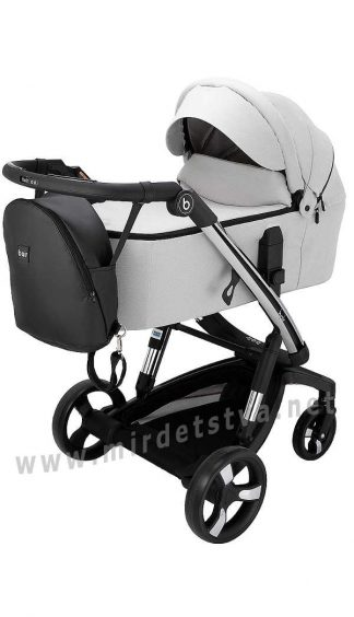 Детская smart коляска Bair Electra B-touch system BE-02 grey