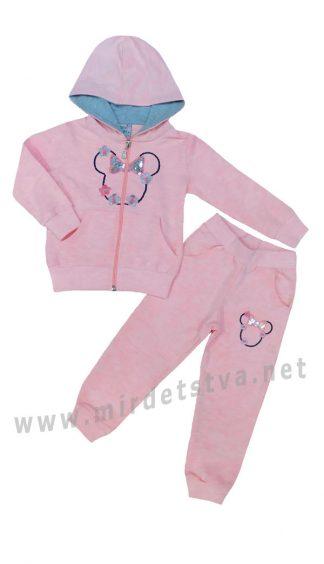 Розовый спортивный костюм для девочек COCOA Girl 0653