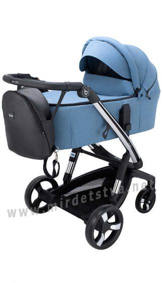 Смарт коляска для мальчика Bair Electra B-touch system BE-03 blue