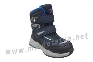 Термоботинки для мальчика B&G ZTE21-1/01 синие