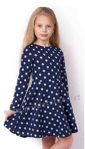 Трикотажное детское платье Mevis 3347-01
