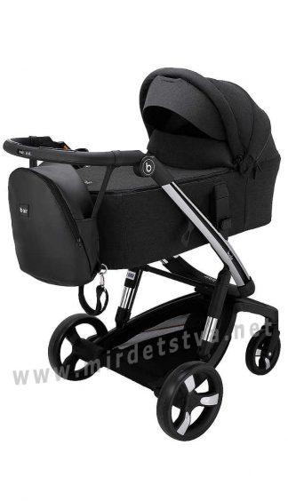 Умная детская коляска Bair Electra B-touch system BE-01 black