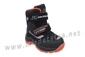 Зимние ботинки B&G термо для мальчика HL21-3/0425