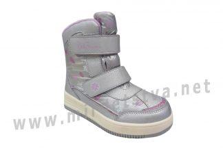 Зимние ботинки на мембране B&G термо HL21-5/2802 для девочки