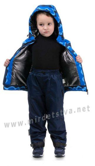 Детские демисезонные штаны на флисе Traveler